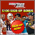 $100 Sign-up Bonus at Intertops.com!
